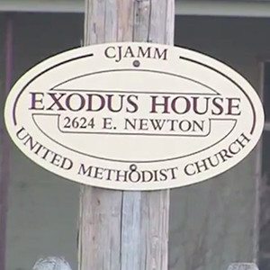 Exodus House Sign Tulsa, OK